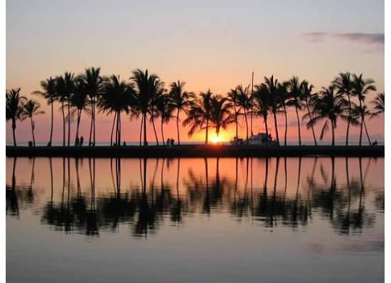 Anaehoomalu bay has amazing sunsets and endless activities