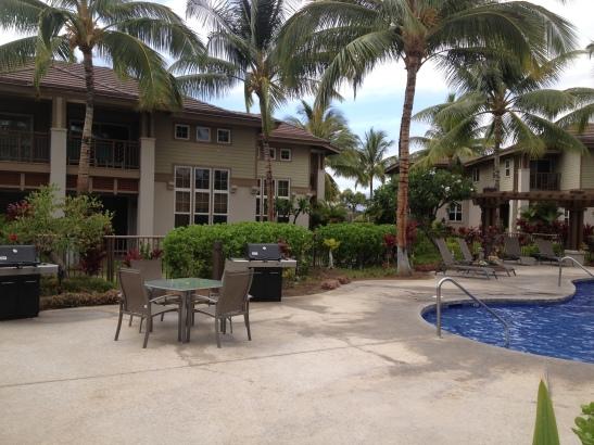 Cook your Mahi Mahi with the grills provided at Waikoloa Colony Villas